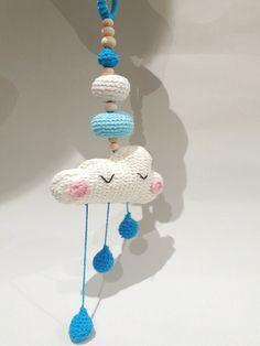 nubes tejidas a crochet
