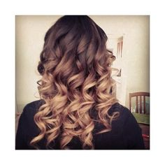 Nice curls for medium hair ❤ liked on Polyvore featuring beauty products, haircare and hair