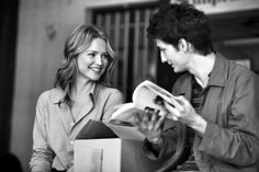 Virginie Efira and Pierre Niney reads