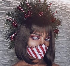45 Best Short Haircuts in 2019 Christmas Makeup Look, Holiday Makeup Looks, Halloween Makeup Looks, Make Up Looks, Crazy Makeup, Cute Makeup, Short Hair Cuts, Short Hair Styles, Face Paint Makeup
