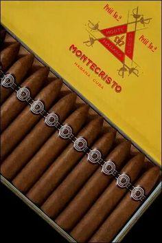 "2B: Spicy aroma: Montecristo Petit No. 2 $31 cdn  9.7cuc, 3x29cuc 6"" 52 ring med-full"