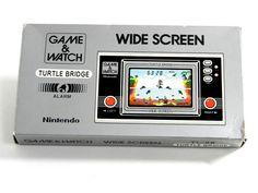 Nintendo Game & Watch Wide Screen Turtle Bridge TL-28 MIJ 1982 NEW MINT F/S_02 #Nintendo