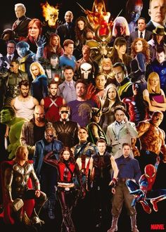 Marvel comic book characters.
