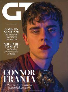 Connor Franta para Gay Times Magazine por Jallell Shirtcliff
