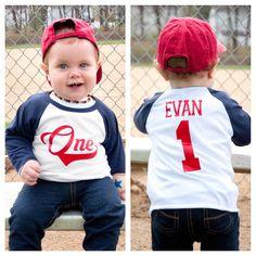 All-Star Birthday Shirt, Little Slugger Birthday Shirt, First Birthday Shirt, First Birthday Baseball Shirt