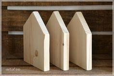 3 Holzhäuser - Holzhaus von art.of.66 auf DaWanda.com
