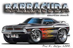 Car Drawing Pencil, Cartoon Car Drawing, Cartoon Art, America Dad, Cool Car Drawings, Dodge Challenger Srt Hellcat, Custom Muscle Cars, Truck Art, Car Posters