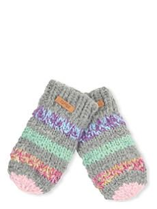 BARTS BV Cable-knit mittens with string