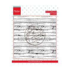 Marianne Design Clear Stamp - Wood CS0943