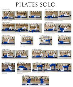 exercicios PILATES - Pesquisa Google