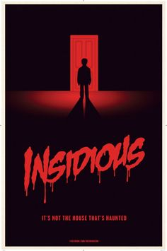 #Insidious - decent watch.. The Demon looked like a comic book supervillain though..