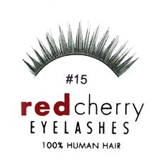 Red Cherry False Eyelashes 15 (Pack of 3) *** For more information, visit image link. #makeup