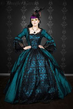 Incredible Steampunk Victorian Gown #gothic #dress #fashion