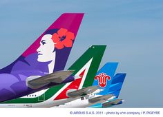 Airbus A330 tails