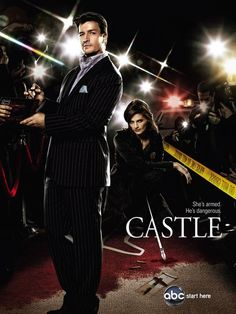 """Nathan Fillion - """"Castle"""" Tv Series - Season 2 DVD - Available for pre-order ! Castle Tv Series, Castle Tv Shows, Best Tv Shows, Favorite Tv Shows, Favorite Things, Movies Showing, Movies And Tv Shows, Doctor Who, Nathan Fillon"""