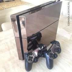 Titanium Chrome - PS4 Console Skins