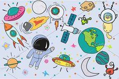 Space - big set by pashigorov on @creativemarket