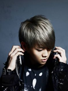 Yang Yo-seob from B2ST. I love his hair :)