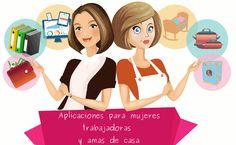 Aplicaciones para mujeres que trabajan y amas de casa
