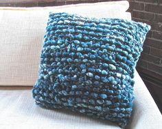 Cocoon Pillow Knitting Pattern
