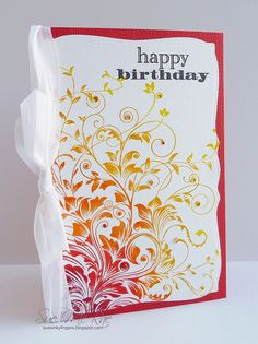 Leafy Vines by Stampin Sue, via Flickr