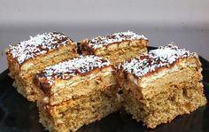 Dessert cake with ness cream and walnut Hungarian Desserts, Romanian Desserts, Romanian Food, Hungarian Recipes, Romanian Recipes, Food Cakes, Cupcake Cakes, Sweets Recipes, Cake Recipes