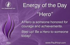 Heroes often risk life and limb to rescue others, but sometimes they just risk an argument or being misunderstood when they courageously speak up and stand up for what they know to be right. And sometimes, they just say and do the right thing at the right time, and become a Hero to someone in need. Be a Hero to someone today, and be a Hero to every child you meet.