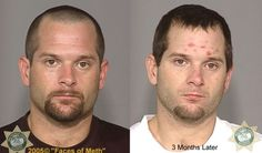 Meth Addicts: Before and After  (38 pics)