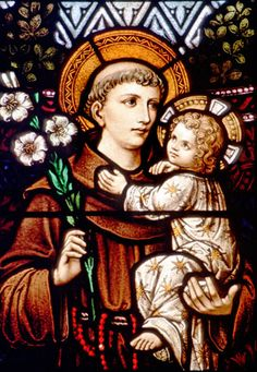 St. Anthony of Padua -- Anthony was a child who grew up with riches, but he chose to live as St. Francis did: in poverty, or poorness, helping others and loving God