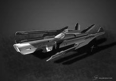 Spaceship by Nisken.deviantart.com on @deviantART