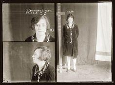 I volti e le storie delle donne criminali del secolo scorso nelle loro foto  segnaletiche  Elsie Bowman: arrestata nel 1928 per furto e prostituzione