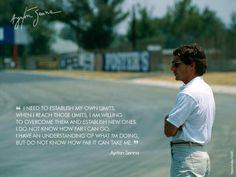 Ayrton Quotes