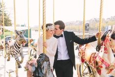 Intimate Wedding in Paris | Chapelle Expiatoire | Wedding Photographer Paris  Bride & Groom Portrait