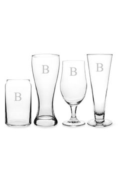 Personalized Specialty Beer Glasses (Set of 4)   Nordstrom