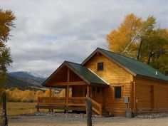 The Post Office Ranch Cabin is a newly constructed (2010) log cabin on a working Angus cattle ranch. Be surrounded by horses, cattle and real cowboys on this authentic slice of Colorado ranching. With over 300 acres, ...