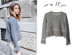 Heather grey sweatshirt >>https://natonthenet.com/clothes/sweaters/heather-grey-sweater-top.html