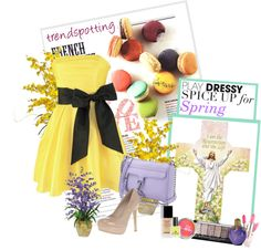 """Easter"" by chitchatcheer ❤ liked on Polyvore"