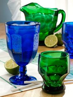 U.S.-Made Mosser Glass is Both Beautiful & Durable