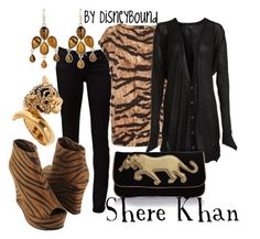 """Shere Khan"" by leslieakay ❤ liked on Polyvore featuring Ksubi, Dolce&Gabbana, Alexander Wang, Forever 21, Marc by Marc Jacobs, Blu Bijoux, Oasis and disney"