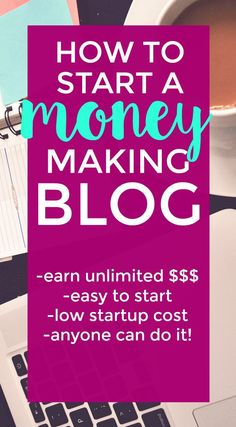 Want to start making money online today? Right now? You can start a blog in less than 15 minutes and it has a super low startup cost. Earn unlimited money and own your own business today! Here's a tutorial to get you started.