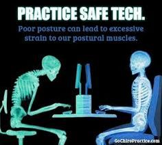Poor posture can lead to excessive strain to your postural muscles. Posture Fix, Better Posture, Bad Posture, Sitting Posture, Improve Posture, Chiropractic Humor, Family Chiropractic, Alexander Technique, Postural