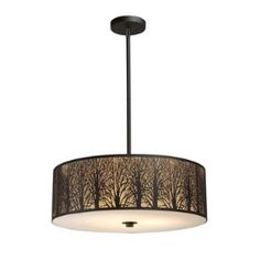 Woodland Sunrise - Five Light Pendant  31075/5by Elk Lighting $376.20