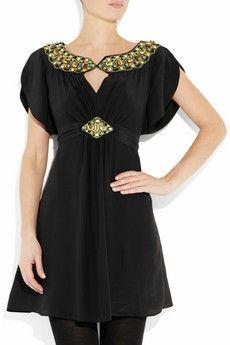 Alice by Temperley Mini Alma silk dress on netaporter, $680