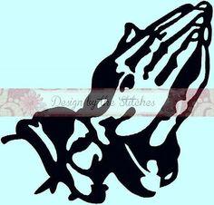 Praying Hands Jesus Praying  Religion by DesignByTheStitches, $2.99