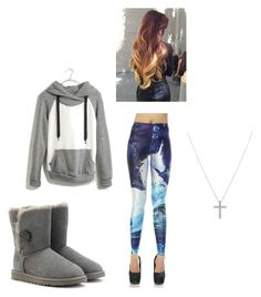 Lazy Saturday by mmgio on Polyvore featuring Madewell, UGG Australia and Nadri