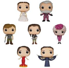 "Funko is releasing The Hunger Games ""Pop!"" figures soon!"