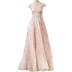 Zuhair Murad - satinee.polyvore.com ❤ liked on Polyvore featuring dresses, gowns, long dresses, satinee, vestidos, long pink dress, pink evening dresses, pink ball gown, pink gown and pink dress