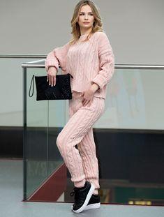 1b8dec9468 SWEATER AND PANTS ROSALVA pink