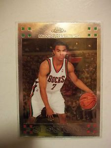 2007-08 Ramon Sessions Topps Chrome #130 Rookie 07-08 RC