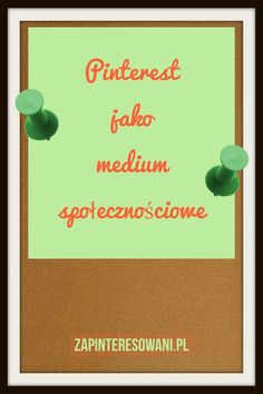 Pinterest, w pewnym stopniu, to medium społecznościowe. Dowiedz się więcej! Pinterest Co, Pinterest Marketing, Facebook Sign Up, Digital Marketing, Thoughts, Blog, Medium, Blogging, Tanks